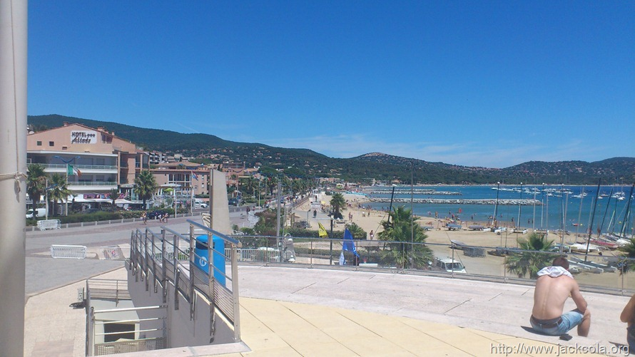 The Town of Cavalaire