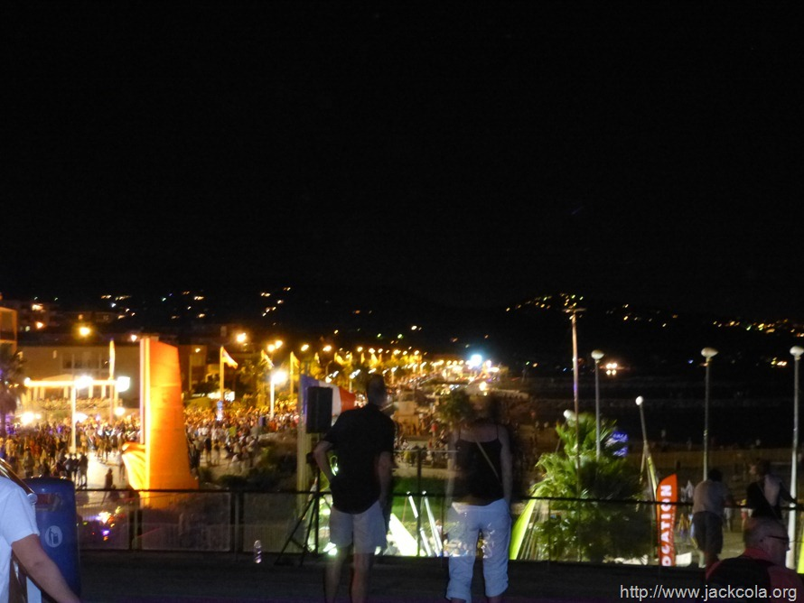 The Town of Cavalaire: Fireworks Display