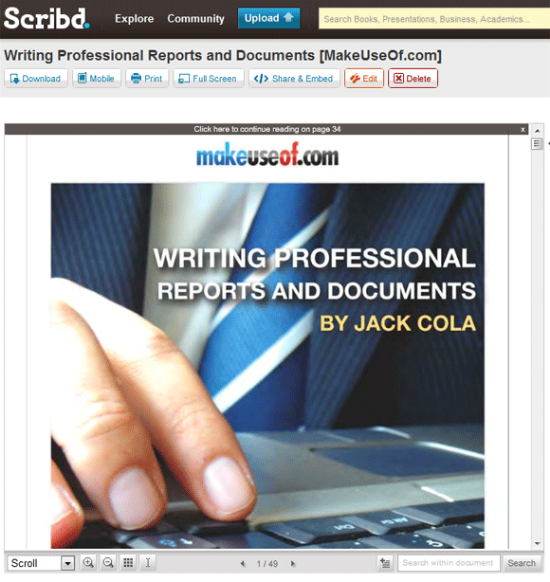 scribd_reportwriting