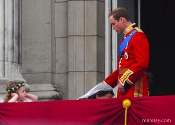 Will and kate balcony image