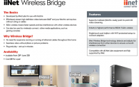 iiNet Wireless Bridge Information
