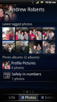 Xperia Contact Photos