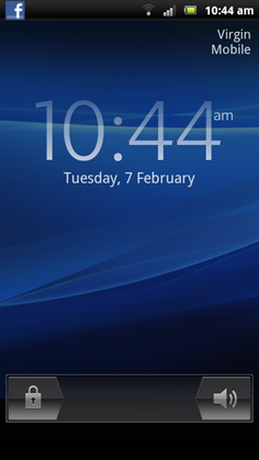 Xperia Lock Screen