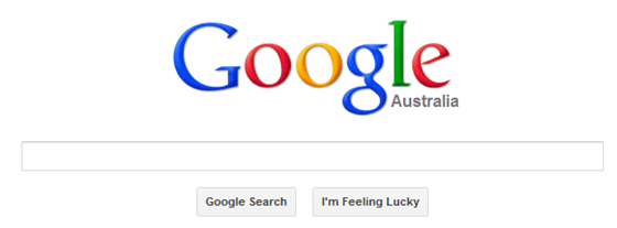 Google Search Australia Homepage