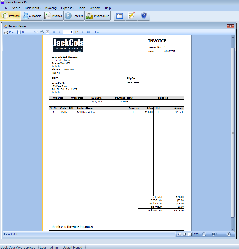 Free Copies Of Crave Invoice Pro To Giveaway JackColaorg - Best way to invoice customers