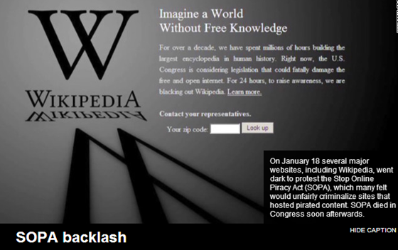CNN 2012 In Review - SOPA Backlash
