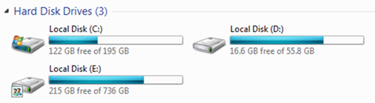Backup your data on a external hard drive