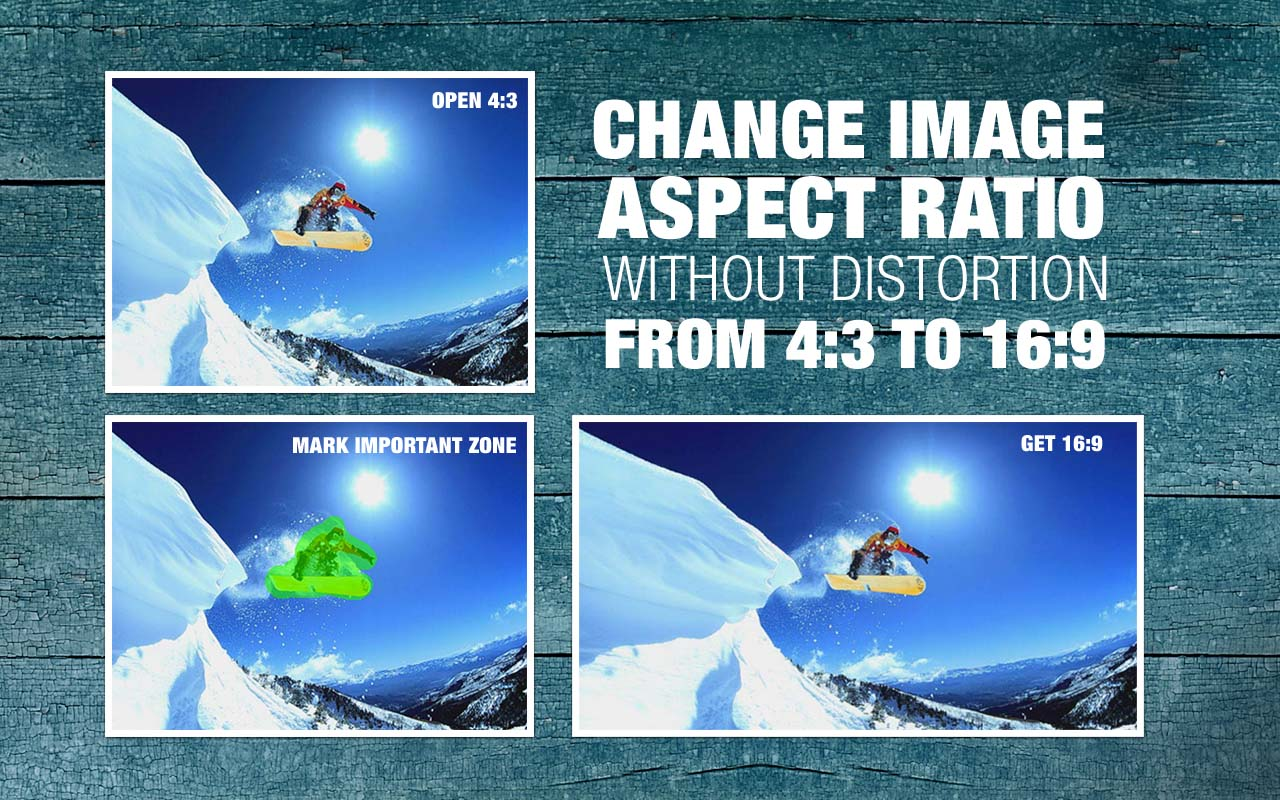 Easily Change a Photo's Aspect Ratio with iResizer [Review and Giveaway]