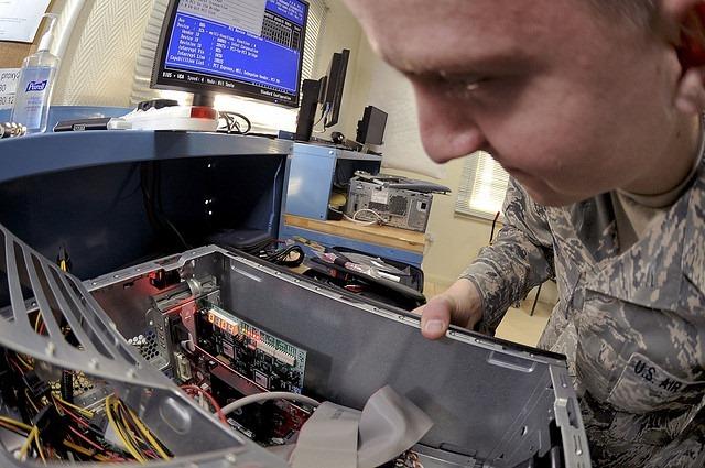 Computer Tech Fixing Computer