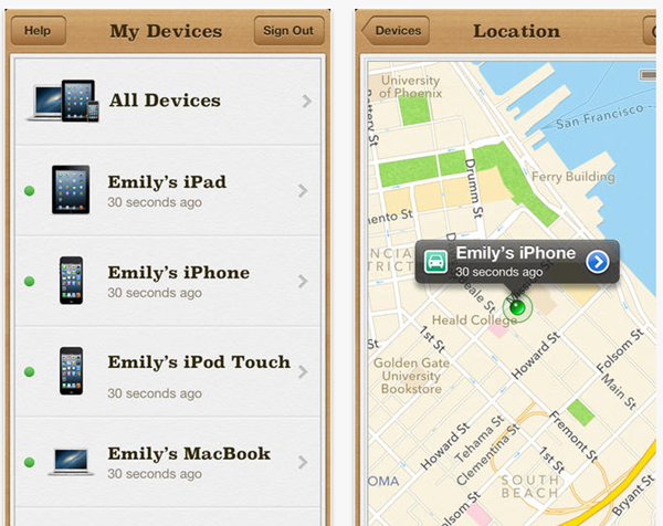 Lost Mobile Phone - Find My iPhone