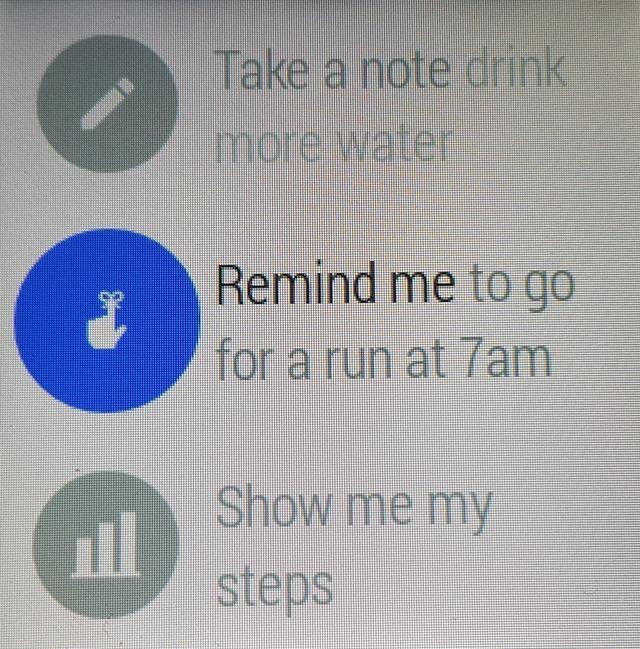 LG G Google Now