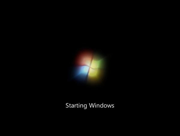starting windows