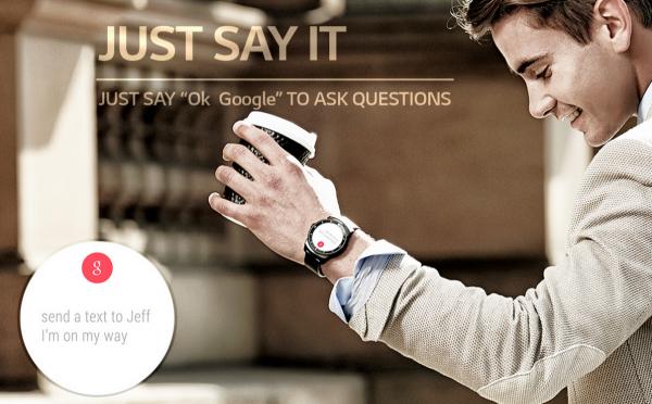 LG G Watch R Ok Google