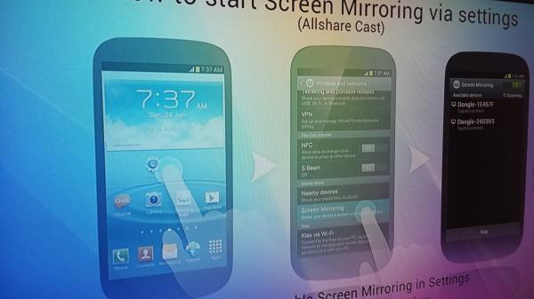 Samsung AllShare Cast TV Setup
