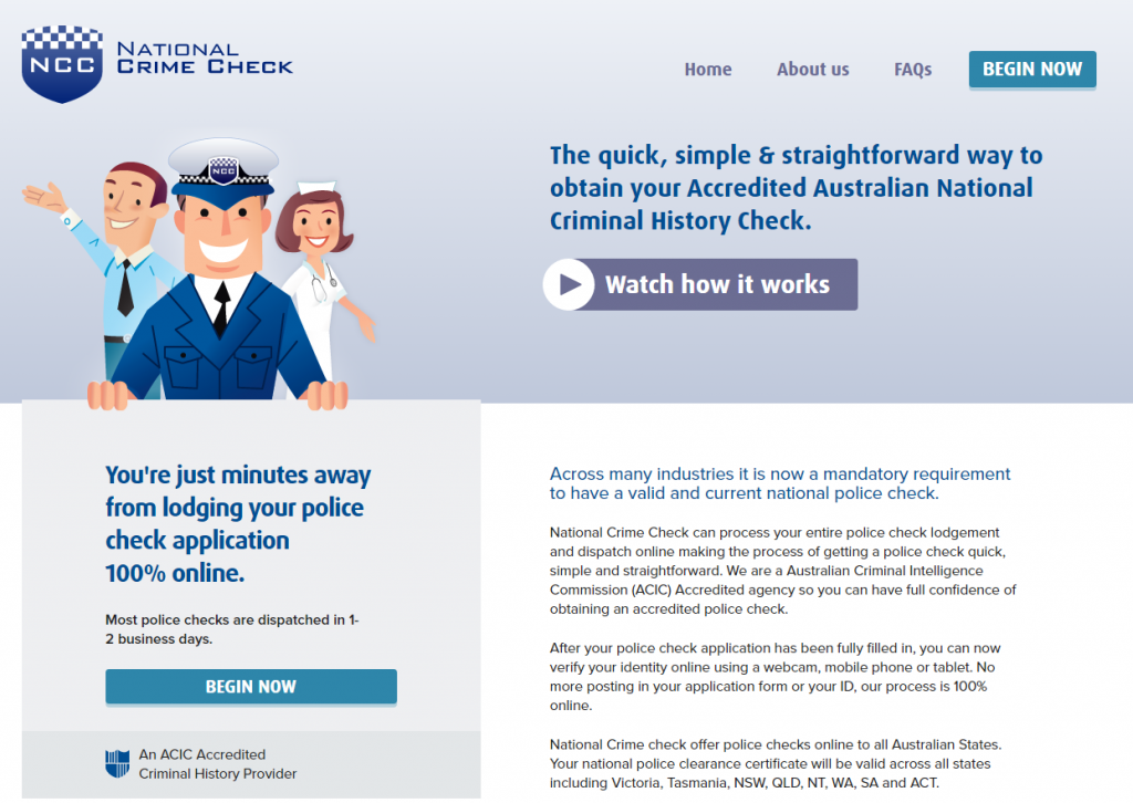 Is an Online Police Check Actually Safe and Secure