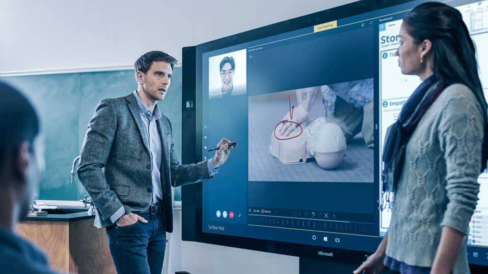 How Microsoft Surface Hub's Interoperability Can Enhance the Productivity of Your Workforce